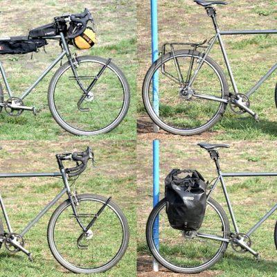 Bikepacking VS borse laterali ant/post