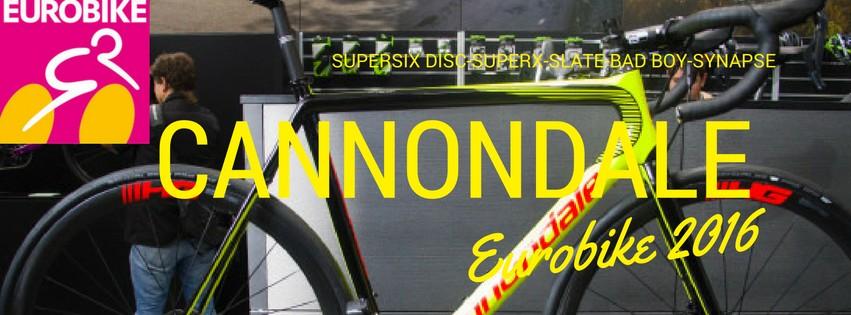 Eurobike news: cannondale road supersix evo disc-synapse-slate-bad boy