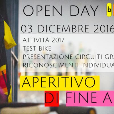 03/12 OPEN DAY CON APERITIVO DI FINE ANNO