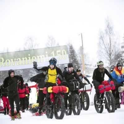 Giovanni Roveri alla Rovaniemi 66!