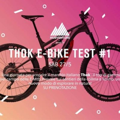 27/05 TEST THOK E-BIKES #1 alla Maddalena
