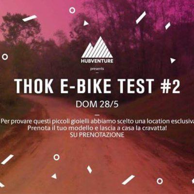 28/05 TEST E-BIKES THOK #2 Cava d'argilla a Cambiano