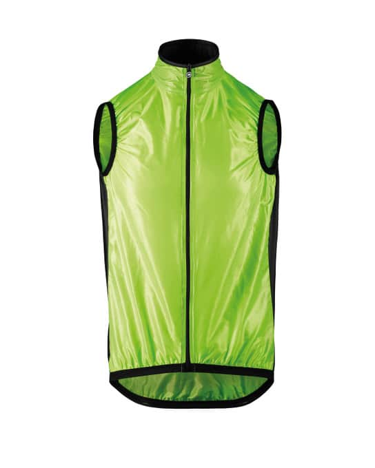 Assos gilet mille gt spring fall yellow