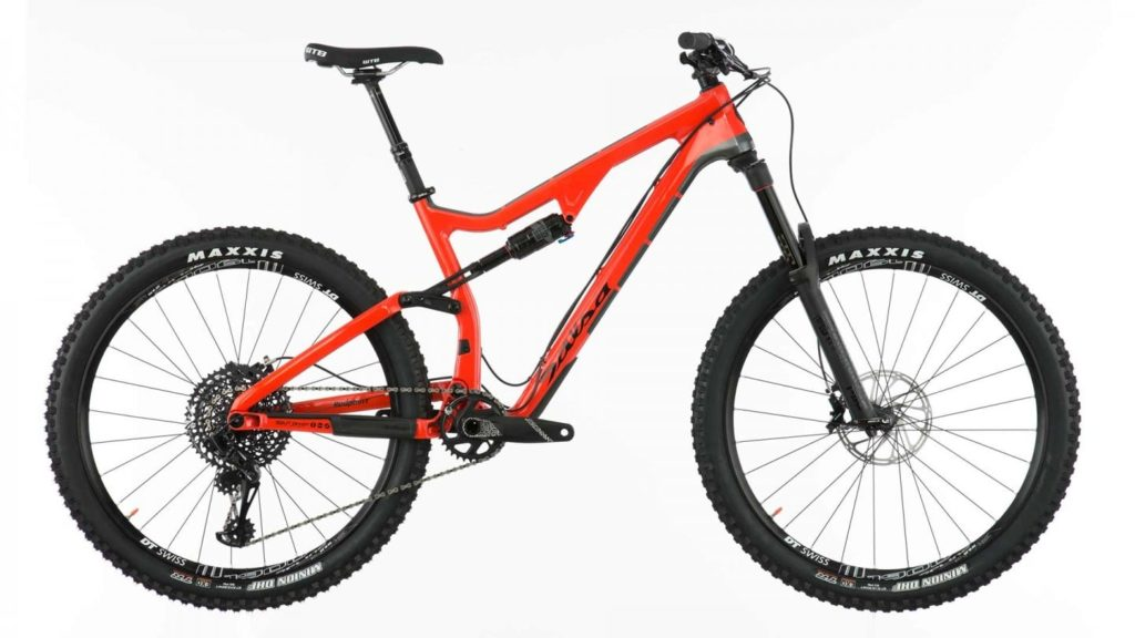 Salsa Red Point Carbon Split Pivot