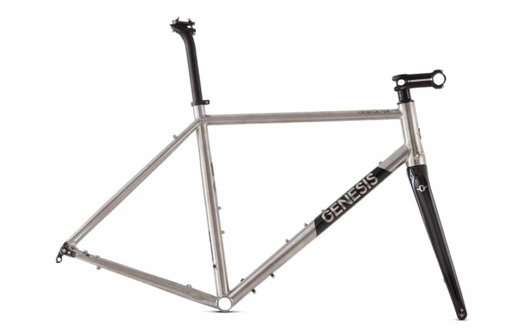 Telaio gravel bike in titanio