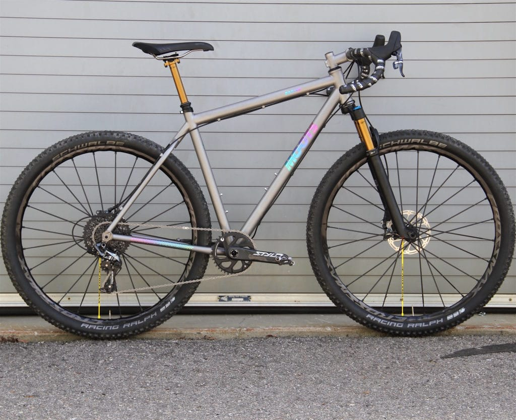 Moots Bike Baxter suspension