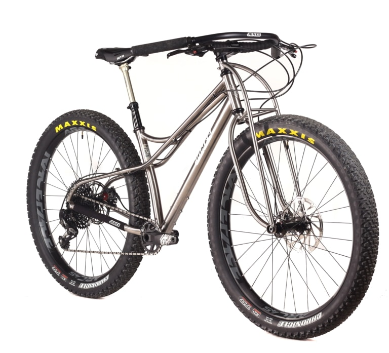 jones titanium spaceframe truss fork