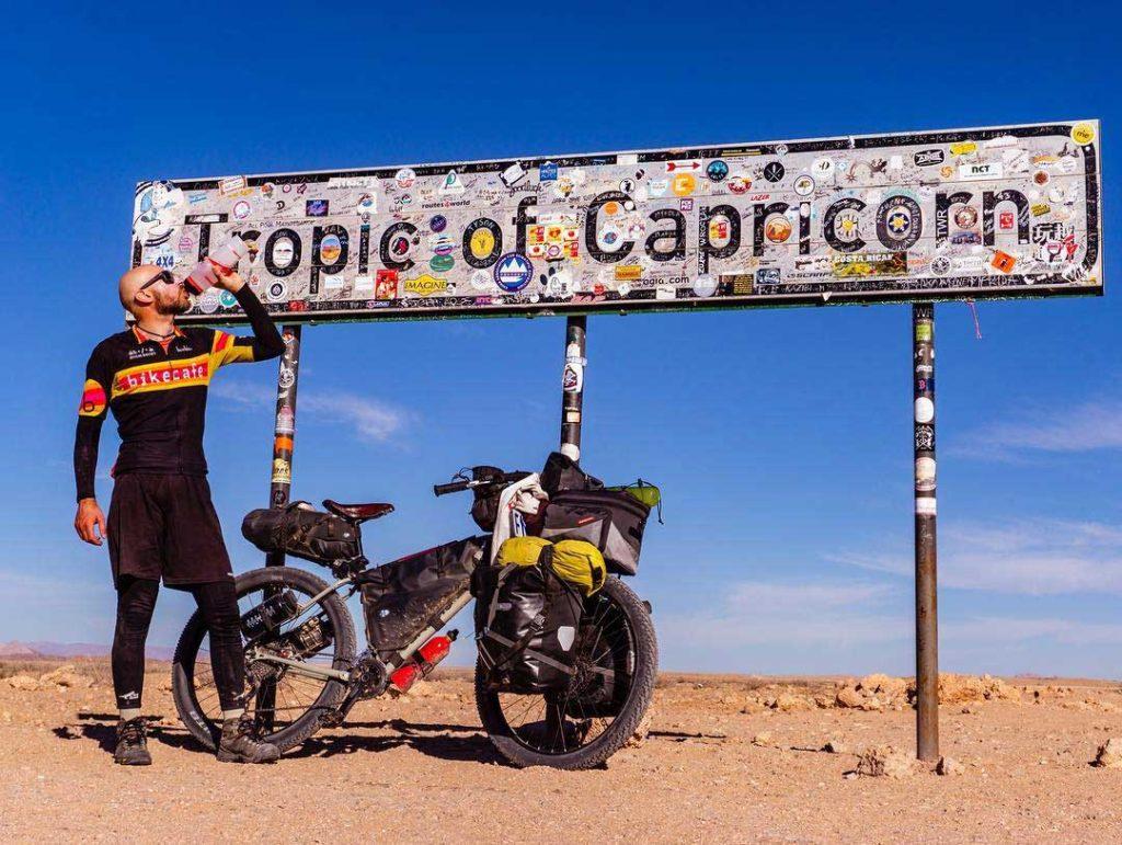 E-Trekking al tropico del capricorno