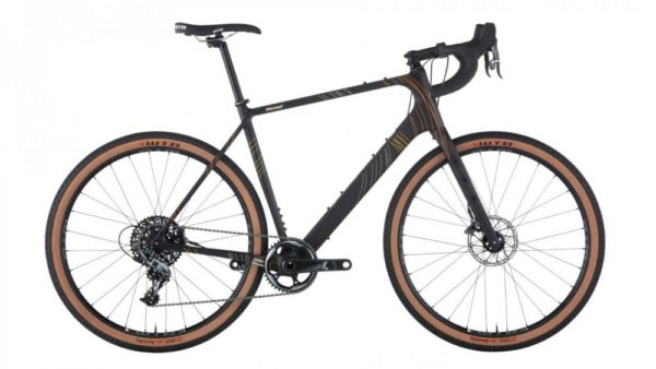 Salsa Warroad Carbon Force 1 All-Road Bike 650B, raw carbon