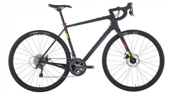 Salsa Warbird Carbon Tiagra Gravel Bike, 700C,  raw carbon