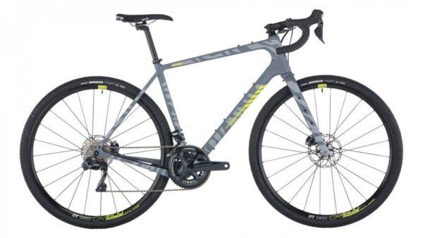 Salsa Warbird Carbon Ultegra Di2 Gravel Bike, 700C, gray zebra