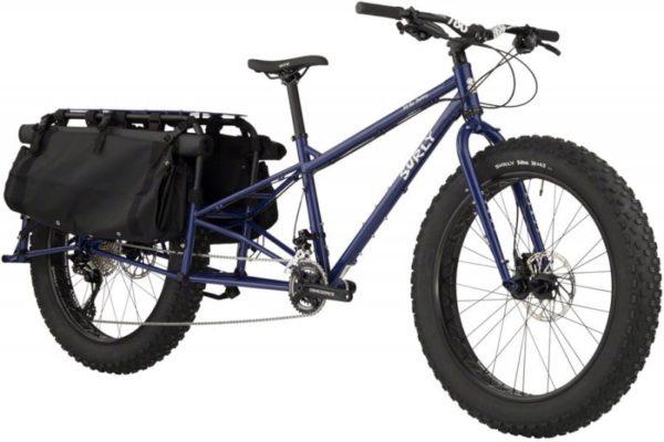 "Surly Big Fat Dummy Cargobike, 26"", S/16"", biolet"