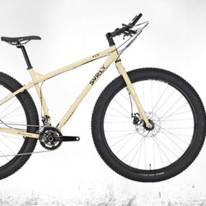 "Surly ECR MTB Complete Bike, 27.5+, XS/14"", green beige"