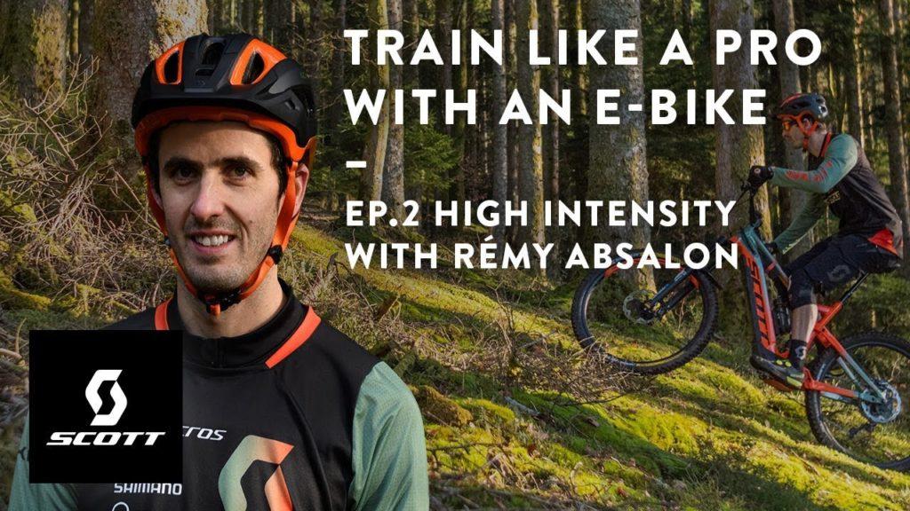 E-Bike allenamento professionisti