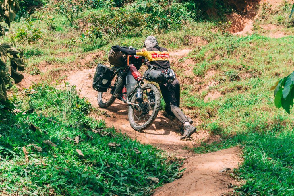 Avventure in bici in Africa