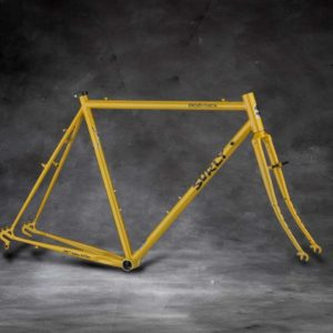 Surly Cross Check Cyclocross Frameset, 700C, stoned ground mustard