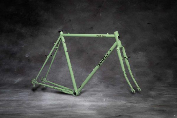 Surly Cross Check Cyclocross Frameset, 700C, stoned ground mustard