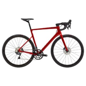 CANNONDALE SuperSix EVO Hi-MOD Disc Ultegra 2021 - Candy Red