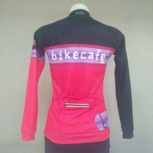 Maglia manica lunga woman race personalizzata BIKECAFE by Biciclista