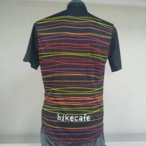 camicia manica corta bikecafe by biciclista righe retro