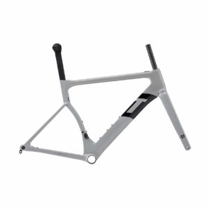 3T Strada Due TEAM Frame - Grey Black