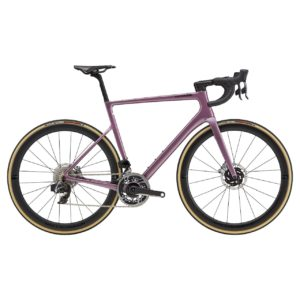 CANNONDALE SuperSix EVO Hi-MOD Disc Red eTap AXS 2021 - Lavender