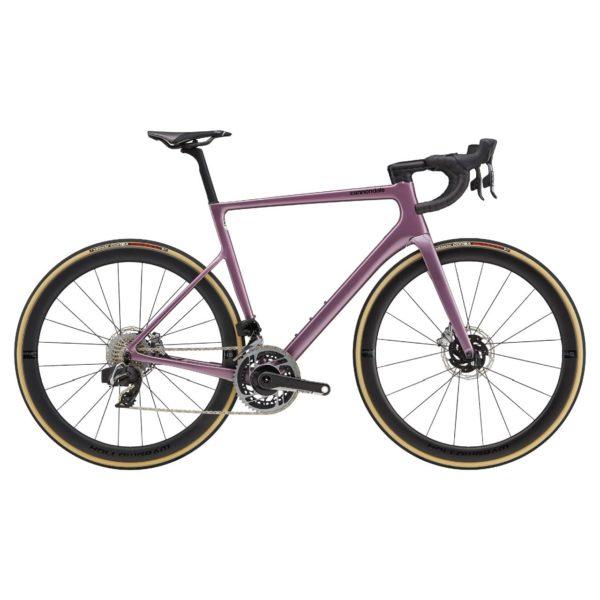 CANNONDALE SuperSix EVO Hi-MOD Disc Red eTap AXS 2021 - Lavender