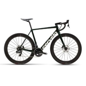 Cervelo R5 Disc Force eTap AXS - Green-Gold-White