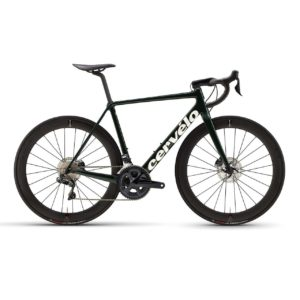 Cervelo R5 Disc Ultegra Di2 - Green-Gold-White