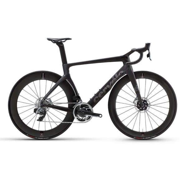 Cervelo S5 Disc Red eTap AXS - Carbon-Metallic