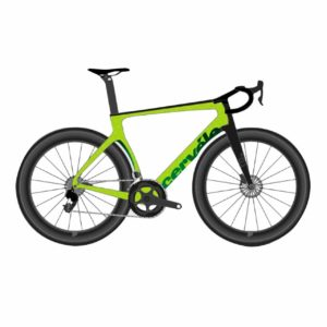 Cervelo S5 Disc Ultegra - Lime-Carbon-Green