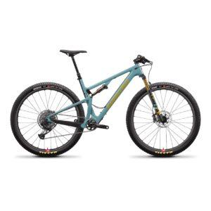 Santa Cruz Blur XC3 CC X01 RESERVE Trail - Aqua