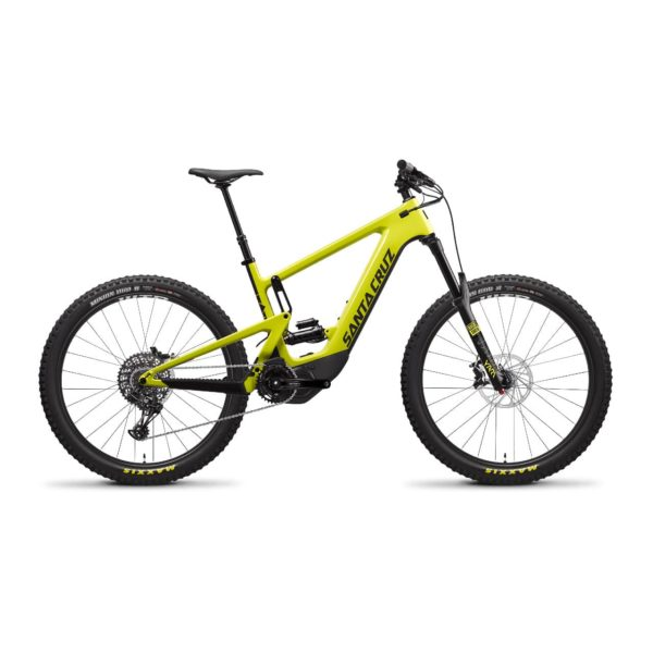 Santa Cruz e-Mtb Heckler CC R - Yellow and Black