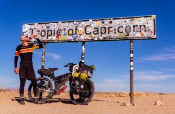 Adventure bikes al tropico del capricorno